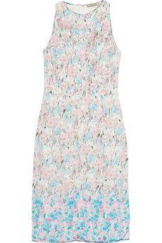 Nina Ricci Floral-print lace dress | NET-A-PORTER