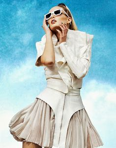 "Fashion #Editorial:  ""Edge Play"" for The Wild Magazine"
