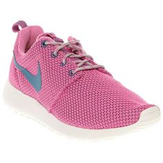 Nike Womens Rosherun Rd VltGrn AbyssWlf GryWhite Running Shoe 55 Women US ** More info could be found at the image url.