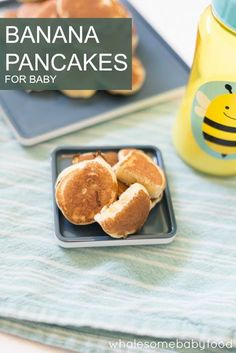 These tiny banana pancakes are the perfect size and shape for little hands! Find out how easy it is to make this yummy and nutritious finger food for baby.