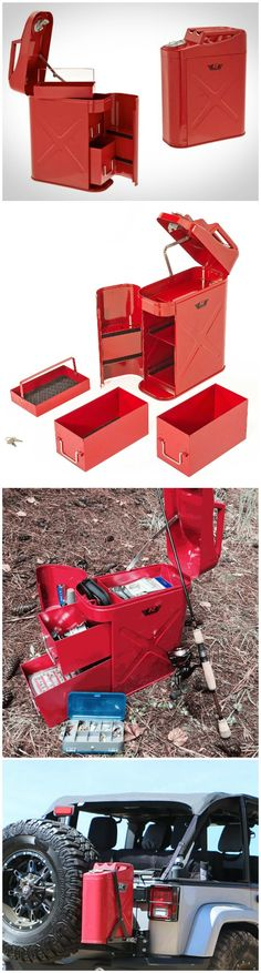Trail Can Utility Tool Box. #affiliate