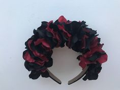 University of Cincinnati Bearcats Floral Headband A personal favorite from my Etsy shop https://www.etsy.com/listing/545364168/university-of-cincinnati-bearcats-floral