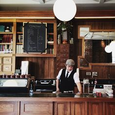 Stumptown Coffee Roasters | love this look and the guy's hat! Coffee anyone?