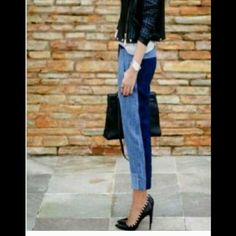 Zara jeans Capri NWT XS Zara Capri. XS fits like a Small. NWT Zara Jeans Ankle & Cropped