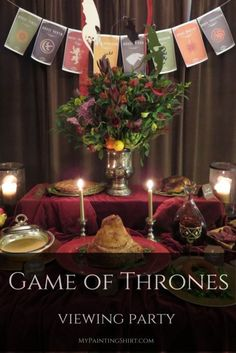 Game Of Thrones Birthday Party Ideas Birthday Party