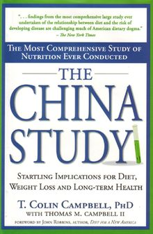 The China Study is a great book that provides many strong arguments for a plant based, whole foods diet.