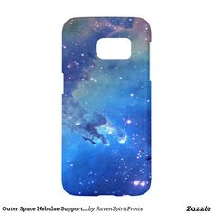 Outer Space Nebulae Supporter Phone Cases for all major models -