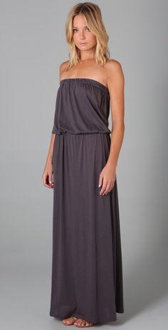 maxi dress. looks so comfy