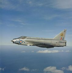 "English Electric Lightning 19 Sqn RAF ""Over the North Sea, Lightning of 19 Squadron stationed at RAF Leaconfield, Military Jets, Military Weapons, Military Aircraft, Air Force Aircraft, Fighter Aircraft, Fighter Jets, Electric Aircraft, Commonwealth, War Jet"