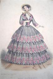 1855. Le Moniteur de la Mode, Paris.