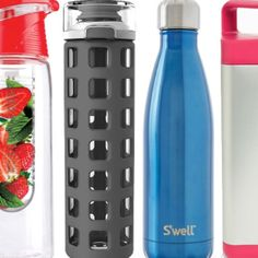 Just a few of our favorite water bottles.