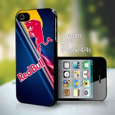 Red Bull Logo for iPhone 4 or 4s case