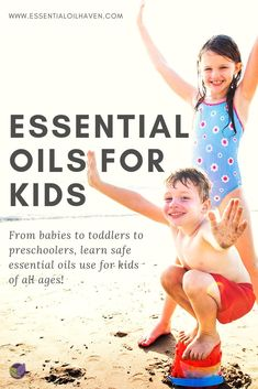 Essential Oils for Kids: Age Appropriate Aromatherapy at Home Essential oils hold a lot of benefits for our health and well-being. As a parent, you want to include your children in your approach to na Essential Oils For Sleep, Essential Oil Uses, Asthma Relief, Essential Oil Diffuser Blends, Baby Massage, Natural Health, Aromatherapy, Essentials, Children