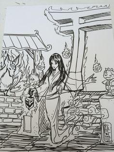 https://flic.kr/p/GBeq15   Yurei - Japanese Ghost   Blog entry.