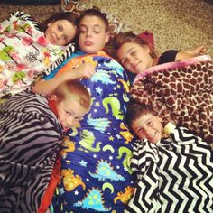 Minky Couture Blanket is a must for a sleepover.   Cute blanket combinations are:  Jungle Fever with our Zebra Ruffle, Dino Brite, Dark Brian with a Pink Ruffle, Chevy Slim Black with Yellow, Bryce with a Rust Ruffle!!