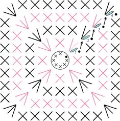 diagrama base cuadrada cesta trapillo