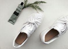 Tie slip on for spring season #ootd#outfit#shoe#slipon