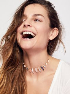 Stella Stone Delicate Choker from Free People!