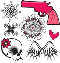 punk-design-elements-vector-49022