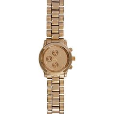 ade69468416a Gold tone bracelet watch. River Island WatchM KorsMk WatchRose ...