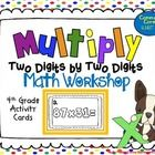 Do you do math workshop in your classroom? If so, then this task card set is the perfect activity for your 4th graders. This will help your student...