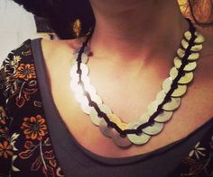 #Collana di monete, #India - #Frida #Creazioni