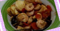 Resep Sapo tahu jamur favorit. Biasa kita masak tahu jepang ini dibuat semacam capcay.. kali ini kita pakai saos tiram dan kaldu jamur ^^  #homemade