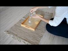 Vida Práctica:Trasvases (VÍDEO) - Practical Life: Pouring (VIDEO) • Montessori en Casa