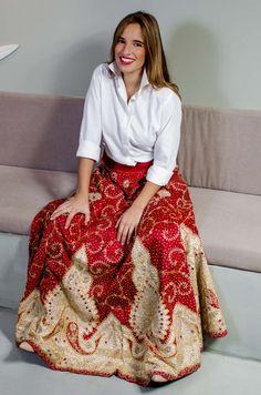 7c7f7bb86 la reina del low cost falda larga etnica india tiendas by gift torrelodones  el escorial look