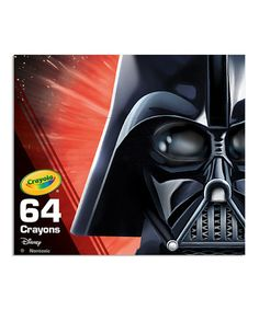 Look at this #zulilyfind! Star Wars 64-Ct. Darth Vader Crayons #zulilyfinds