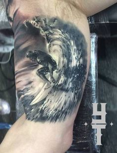 surfing tattoo - Google Search