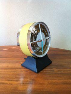 Vintage 1950s Chrome Delwyn Desk Fan Mid by GirlGoesVintage, $49.50