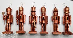 Steampunk diy 571183165215795455 - EPBOT: Mini Steampunk Nutcrackers & [sob] Packing Up Christmas Source by Christmas Wood, Christmas Holidays, Christmas Crafts, Christmas Ornaments, Christmas Stuff, Christmas 2019, Nutcracker Ornaments, Steampunk Crafts, Nintendo