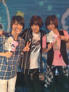 aishiteruitsumo6:蒼井翔太   @shouta0811aoi     Rejet 27時間TV夏祭りワッショイ!!!  ありがとうございました! ユニコで一枚!