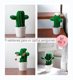 amigurumi amigurumi cactus do cctus Cactus Amigurumi, Crochet Cactus, Knit Or Crochet, Amigurumi Doll, Crochet Flowers, Amigurumi For Beginners, Sewing Crafts, Diy Crafts, Yarn Projects