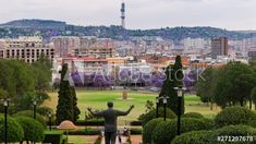 Jacaranda season view of Pretoria, Thswane, South Africa as seen from the Union Buildings, late afternoon timelapse until dusk/twilight with Madiba (Nelson Mandela) statue 4K 25p. #TLSA #wedoallthingstimelapse #stock #stockfootage #timelapse #southafrica City Scene, Pretoria, Nelson Mandela, Stock Video, High Quality Images, Dusk, Stock Footage, Twilight, South Africa