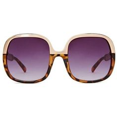Maya Shades ❤ liked on Polyvore featuring accessories, eyewear, sunglasses, oversized sunglasses, gold glasses, gold sunglasses, tortoise glasses en tortoise shell glasses