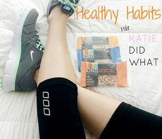 Healthy Habits via Katie Did What - Great tips, products and ideas every week!