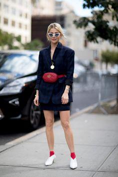 New York Fashion Week Street Style Spring 2018