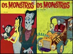 The Munsters Mexican Comic Books