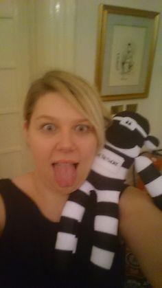 Selfie - Nettie with Sam from Nicholson & Co Accountancy in Sheffield