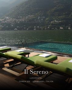 the most beautiful lakeside hotels in the foothills of the Alps - IL SERENO, Comer S .- die schönsten Seehotels im Alpenvorland – IL SERENO, Comer See the most beautiful lakeside hotels in the foothills of the Alps – IL SERENO, Lake Como - Solo Travel Europe, Camping Europe, Italy Travel, Lakeside Hotel, Lake Hotel, Hotel Spa, Europe Destinations, Holiday Destinations, Hotel Europa
