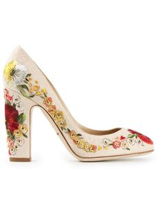 Shop Dolce & Gabbana embroidered pumps in Stefania Mode from the world's best independent boutiques at farfetch.com. Over 1000 designers from 60 boutiques in one website.