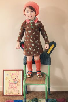 ANNIKA, modern-vintage childrens' (kids) clothing line, fall apparel