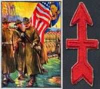 Harold T. Herman, US Army, Red Arrow - 32nd Division, 126th Infantry, US Army, World War 1, Caledonia, Michigan