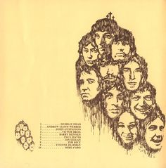"""This drawing is from the original libretto to the rock opera, """"Jesus Christ Superstar"""" / October, 1970 Jesus Christ Superstar, The Rock, Opera, October, The Originals, Drawings, Opera House, Sketches, Drawing"""