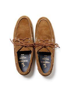 nonnative x REGAL GORE-TEX 2L Cow Leather Dweller Deck Shoe