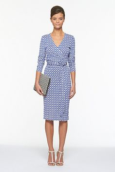 Classic DVF wrap dress...major wish list item.