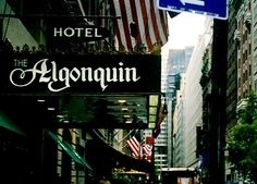 Algonquin Hotel - New York Algonquin Hotel, New York Travel, Long Distance, Romance, Contemporary, Face, New York City, Novels, New York Trip