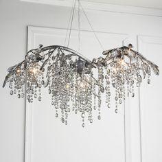 Branch Of Light Design 10 30 Chrome Chandelier With Clear European Or Swarovski Crystal Sku 10633 Interior Pinterest